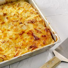 White Cheddar and Smoked Gouda Potato Gratin, a recipe from the ATCO Blue Flame Kitchen. Canadian Thanksgiving, Thanksgiving Feast, Ham Dinner, Smoked Gouda, White Cheddar Cheese, Vegetable Casserole, Cheesy Potatoes, Macaroni And Cheese, Cravings