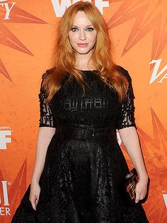 The Emmys Arent Til Sunday, but the Stars Are Already Partying! | MAD WORLD | Mad Men's Christina Hendricks brings her signature style to Friday night's Variety Women in Film Pre-Emmy Celebration, sponsored by Svedka and Heineken, at Gracias Madre restaurant in West Hollywood.