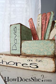 This is great..thinking about getting a chore chart of some type so my house can function better!!!!