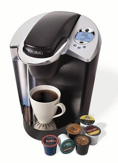 Keurig - It's really awesome because I can always have a first cup of coffee. Call me a coffee snob