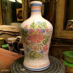 Beatiful painting job | tatver's photo on Instagram #ceramics #pottery