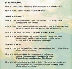 Nuestro compañero Jairo López participa en la XXVII Feria del Libro de Santa Cruz de Tenerife que empieza hoy. El domingo y el lunes impartirá sendas conferencias/talleres sobre adaptaciones literarias.
