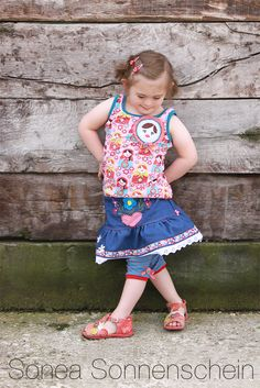 enemenemeins Stoff Design, Jeans Rock, Overall Shorts, Outfit, Basic Tank Top, Overalls, Pink, Summer Dresses, Sewing