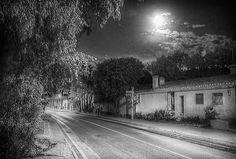 Xaló Spain at night