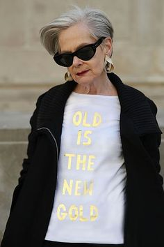 Old Is The New Black   ADVANCED STYLE   Bloglovin'