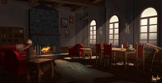 Living Room by AnthonyAvon