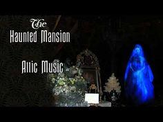 Attic Music - Haunted Mansion Ride Audio - YouTube