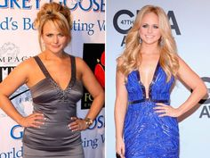 Miranda Lambert Weight Loss Secrets: Lost Weight the Old Fashioned Way. She did circuit training workout and ate portion controlled diet to lose weight.