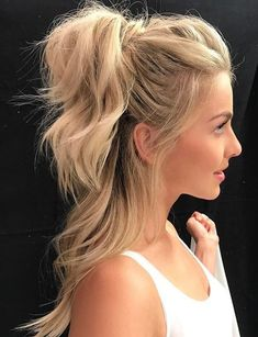 Cute Casual Pony Hairstyles 2018