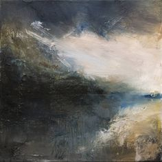 "Saatchi Art Artist Keith Nichols; Painting, ""Eidfjord storm study"" #art"