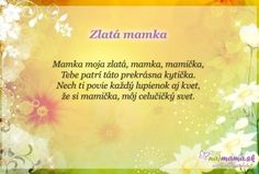Najmama.sk Games For Kids, Poems, Education, Movie Posters, Children, Hacks, Funny, One Day, Games For Children