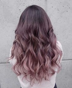 Trendy hair color balayage chocolate 16 Ideas - All For New Hairstyles Ombre Hair Color, Hair Color Balayage, Cool Hair Color, Purple Hair, Purple Balayage, Hair Colour, Nice Hair Colors, Pinterest Hair, Dye My Hair