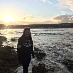 Tess #nofilter #anglesea #beach #sunset by giselleemma http://ift.tt/1KosRIg