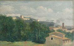 Pierre-Henri de Valenciennes. À la villa Farnèse, les maisons parmi les arbres (1777-1785)Вернись,придукок!