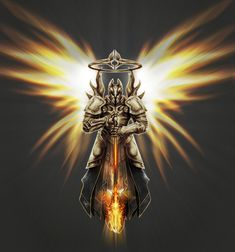 Imperius - The Archangel of Valor by Inkfired on DeviantArt High Fantasy, Medieval Fantasy, Fantasy Art, Angel Warrior, Warrior 2, Male Witch, Christian Warrior, Christian Images, Heroes Of The Storm