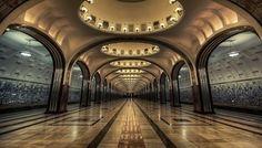 A világ 15 legszebb metróállomása ilyen lenyűgözően néz ki :)