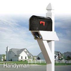 Low-maintenance Mailbox
