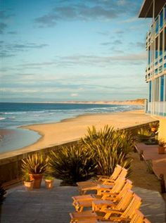 BEST WESTERN PLUS Beach Resort Monterey. Yep, it is literally ON the beach. Cannot wait to get back there in April!
