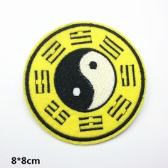 Chinese Tai-Chi / YIN-YANG Chinese style back patch cool patches iron on patch sew on patch Tai-Chi YIN-YANG Chinese products back patch Large patch felt Jacket patches Non-woven patch iron on patch sew on patch Embroidery badge patch patches Cool Patches, Sew On Patches, Iron On Patches, Jacket Patches, Yin Yang Chinese, Ying Yang Symbol, Wholesale Promotional Products, Back Patch, Way Of Life
