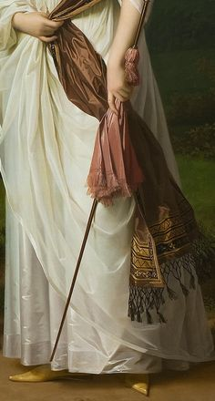 """Jens Juel, """"Niels Ryberg with his Son Johan Christian and his Daughter-in Law Engelke, nee Falbe [Detail],"""" Fashion History, Fashion Art, Great Works Of Art, Classic Paintings, Chef D Oeuvre, Victorian Art, Classical Art, Detail Art, Renaissance Art"""