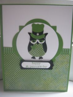 St. Pat card cased from Connie Babbert
