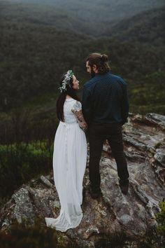 Kate & Brad » Blackheath, Blue Mountains wedding by Willow & Co. www.willowand.co