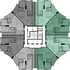 """Outstanding """"greenhouse architecture project"""" information is available on our internet site. Plan Hotel, Hotel Floor Plan, House Floor Plans, Building Layout, Home Building Design, Residential Building Plan, Residential Architecture, Concept Architecture, Architecture Design"""