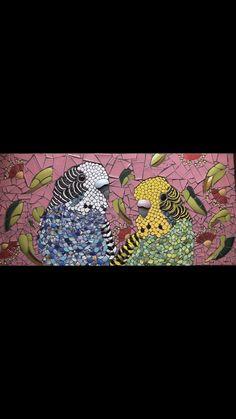 Gallery – Mac_Mosaics Mosaic Birds, Mosaic Artwork, Australian Birds, Beautiful Soul, Mosaics, Flora, Mac, Artworks, Gallery