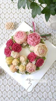 명절에 선물한 케익들 .. : 네이버 블로그