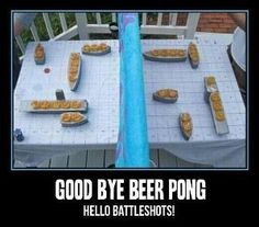 Good bye beer pong by angelique