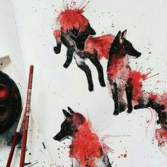 Finished!  #Wolf