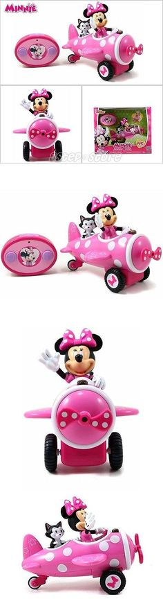 Minnie 19220: Minnie Mouse Airplane Remote Control Plane Disney Toddler Play Girl Toys Kid New -> BUY IT NOW ONLY: $33.32 on eBay!