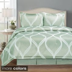 Shop for Wave Pattern 4-piece Comforter Set. Get free shipping at Overstock.com…