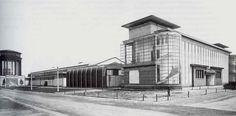 Walter Gropius Werkbund Model factory building, Cologne, 1914