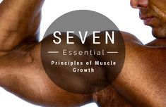 Seven Essential Principles of Muscle Growth Train Hard, Enough Is Enough, Build Muscle, Essentials, Fitness Exercises, Muscle Mass, Division, Muscles, Gain