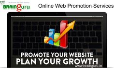 Brainguru Technologies Pvt. Ltd., provides a variety of #Online #Web Promotion #Services in India, to promote a #website on the major search engines as well as major #directories, based upon your unique target #market.