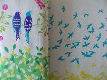 Echino Vögel gelb/grün Echino, Different Birds, See Photo, Cotton Fabric, Etsy, Vintage, Yellow, Fabrics, Color