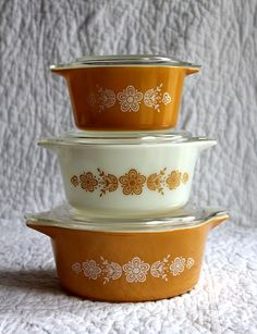 Love these! Very cool! I have 2 with this pattern and love them. I use them all the time and have had them almost 40 years!