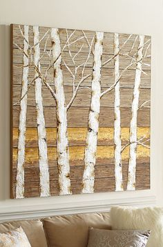birch tree  WALL ART from Pier 1 imports