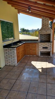 Pin by Svet Lana on Outdoor living room in 2020 Outdoor Kitchen Patio, Outdoor Kitchen Design, Home Decor Kitchen, Outdoor Living, Backyard Patio Designs, Backyard Landscaping, Pergola Patio, House Plans, New Homes