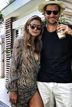 Olivia Palermo wearing Westward Leaning Flower 13 Sunglasses and Zimmermann Gemma Sheer Asymmetric Dress