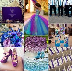 Purple Wedding Color - Combination Options | Weddings! | Pinterest ...