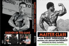 MASTER CLASS with ROBBY ROBINSON DVD -▶ www.robbyrobinson.net/dvd_master_class.php AMAZON -▶ www.amazon.com/Master-Class-with-Robby-Robinson/dp/B00DFMUERO/ USE THE OPPORTUNITY TO TRAIN WITH THE BODYBUILDING LEGEND ROBBY ROBINSON AKA THE BLACK PRINCE, AS HIS DVD CARRIES YOU THROUGH SEVERAL INTENSE 1-ON-1 TRAINING SESSIONS AND LETS YOU EXPERIENCE THE ULTIMATE BODYBUILDING LIFESTYLE IN VENICE, CA.  © RR/BP Prod. www.ROBBYROBINSON.net www.robbyrobinson.blogspot.com email info@robbyrobinson.net
