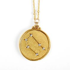 Sequin | Gemini Constellation Necklace GEMINI May 21 - June 20 Quick-witted, curious, supremely adaptable and a master communicator. This Star Maps Necklace features the Gemini Constellation charm and Zodiac name plate and was selected for Oprah's #favoritethings2014