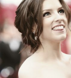 Anna Kendrick...ive gotten her as my celebrity look a like twice now in the past week....must be true!