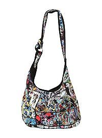 6b8bd7e02b50 HOTTOPIC.COM - Marvel Comics X-Men Panels Hobo Bag Cute Bags