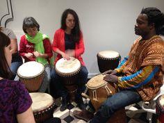 African drumming workshop in London with Samuel Yeboah