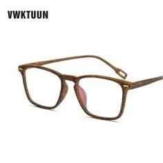 bdcec0c08 VwkTuun* 643 Armação de Óculos Masculino Madeira Natural. Simple Market