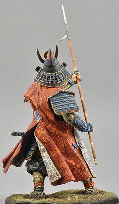 Samurai Armor, Arm Armor, Samurai Outfit, Samurai Clothing, Japan Illustration, 3d Figures, Martial, Military Figures, Minis