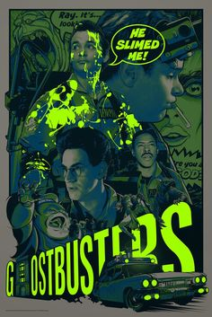 Ghostbusters - They're Here To Save The World by Joshua Budich